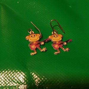 (3 for $10) Monkey Earrings